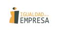 Logotipo Igualdad en la Empresa