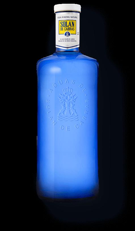 Solán de Cabras. Botella de agua