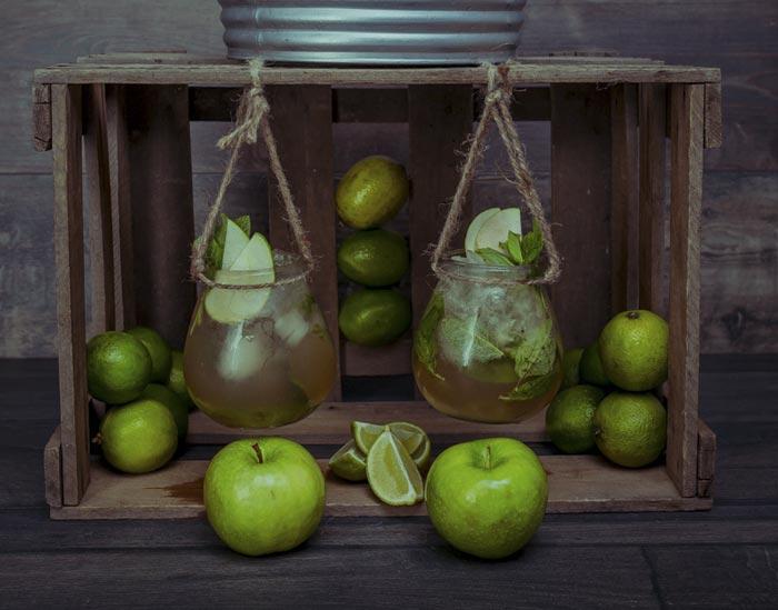 Solán de Cabras. Aguas de Sabores manzana