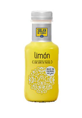 Solán de Cabras. Bebidas sin gas limón