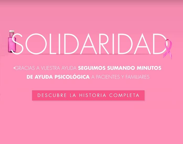 #GOTASDESOLIDARIDAD ÚNETE EN LA LUCHA CONTRA EL CÁNCER DE MAMA