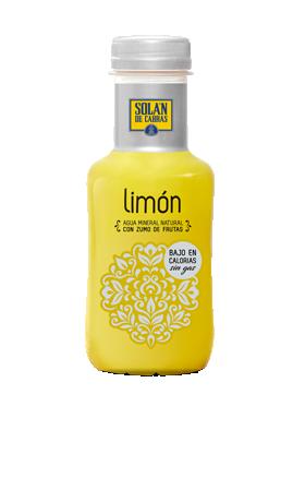 Solán de Cabras limón botella