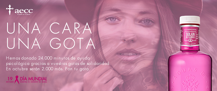 "SOLÁN DE CABRAS CONTINUES WITH ""GOTAS DE SOLIDARIDAD"" BY SUPPORTING WORLD BREAST CANCER DAY"