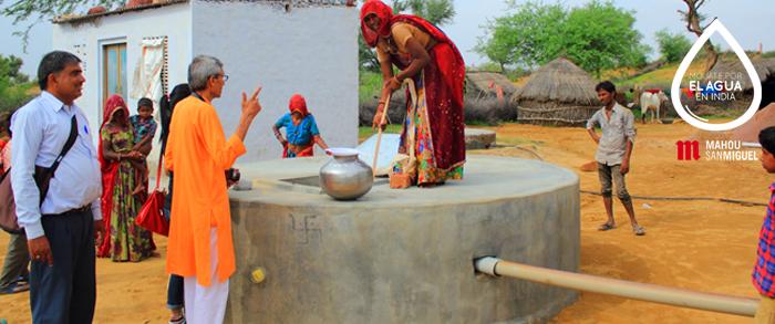 Proyectos internacionales de agua y saneamiento
