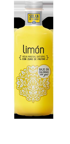 Solán de Cabras limon botella grande