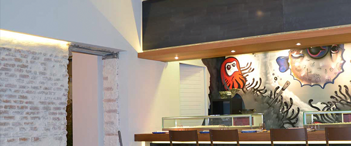 Umiko fusion restaurant by juan alcalde and pablo alvaro for Aura world fusion cuisine