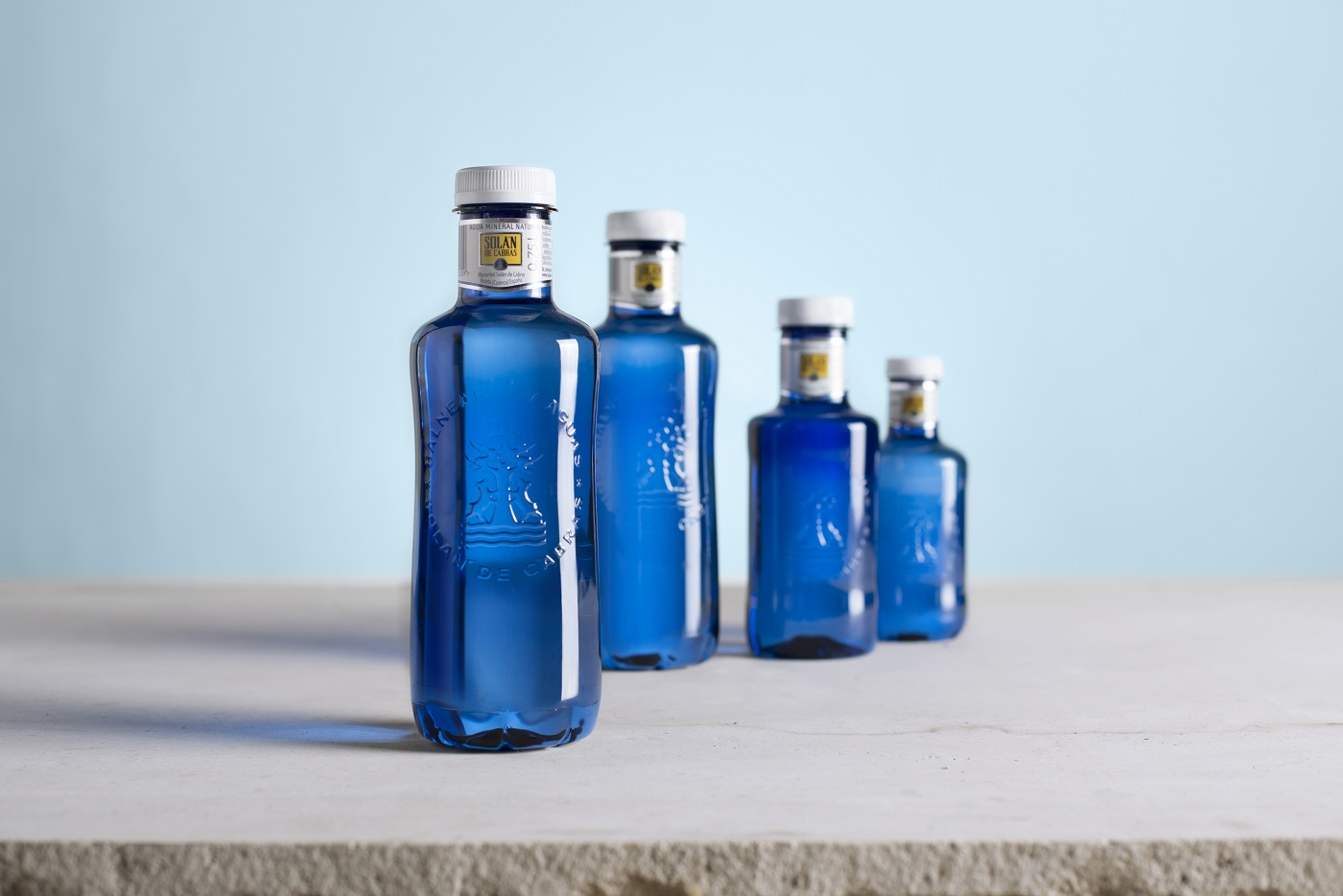 botellas solán de cabras
